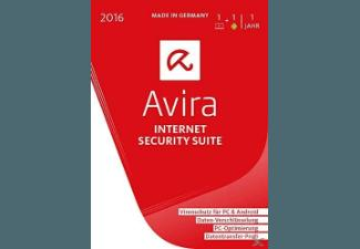Avira Internet Security Suite 2016 - 1 Gerät / 1 Jahr